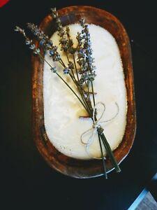 Luxi Candle Co 20oz Lavender Vanilla Dough Bowl Candle