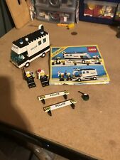 Lego Vintage Town  6676 Police Mobile Command Unit W/ Instructions. 1986.
