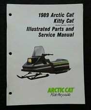 1989 Arctic Cat Kitty Kat CM Mini Kinder Schneemobil Service Repair Manuell Sehr