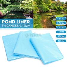 Fish Pond Liner Gardens Pools HDPE Membrane Reinforced Landscaping 6 Sizes Blue