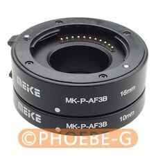Meike automatique tube d'extension pour micro quatre tiers M4/3 Panasonic Olympus