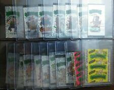 (15) 1990s Basuritas Gum Wrap Around Stickers +Wrappers Brazil Garbage Pail Like