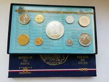France Coffret FDC 1978 Boitier avec les 8 pièces dont 50 Francs Hercule Argent