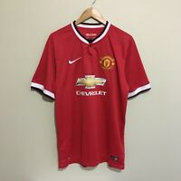 Di Maria Manchester United #7 Nike 2014/2015 Soccer Football Jersey Mens XL