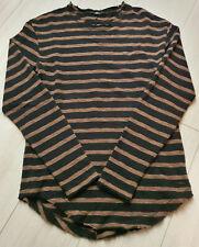 Tigha Herren  Sweater Pullover Vintage Black/Bown Größe M