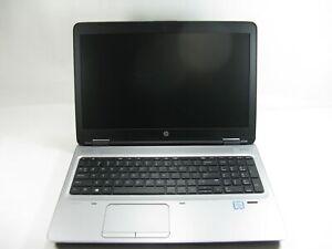 """HP ProBook 650 G2 15"""" Laptop 2.4 GHz i5-6300U 8GB RAM Grade C No Battery, Webcam"""