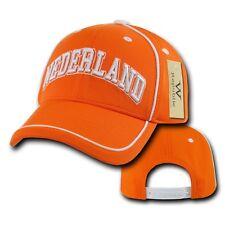 Netherlands Soccer Football Dri Cool Mesh World Cup Nederland Baseball Hat Cap