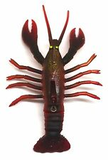 Crazy Crayfish fishing lure with photo realistic colours n movement. one unit