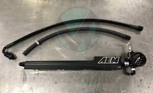 B Series Fuel System AEM Rail, Skunk2/grams SARD Style Regulator for Honda Acura