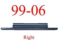 99 06 RIGHT Slip-On Rocker Panel, 2Dr Regular Cab, Chevy GMC Truck, 2.0MM Thick