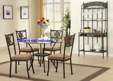 Set of 8 Dining Chairs Modern Cushion seat Framed back Dining room Furniture