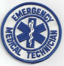EMT Patch Emergency Medical Technician Embroidered Patch Collectible Patch
