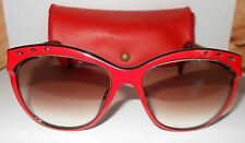 Vintage  SAPPHIRE  eyeglass frames 4169 RED AND BLACK   RARE GERMANY