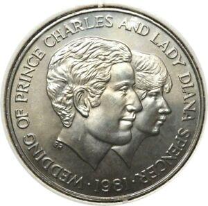 elf Uganda 10 Shillings 1981 Royal Wedding of Charles and Diana