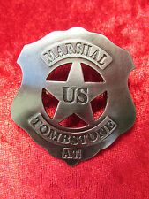 Sheriffstern, Badges, Pin, Anstecker US MARSHAL TOMBSTONE