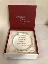 Bangles from Heaven Fine Silver Plate Serenity Prayer # 13385-S