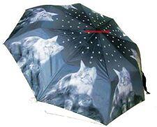 Mario Moreno Taschenschirm Katzen Automatik Schirm Kitten mit STRASS