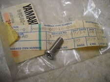 NOS OEM Yamaha Crankcase Cover Screw 1963-1984 LB50  YL1 - 100 XS500 98580-05016