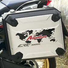 2x kit World Honda Africa Twin CRF 1000 L 2016 ADVENTURE Black/Red