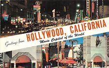 BG13924 hollywood california movie capital of the world  usa