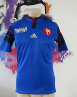 France Rugby World Cup 2015 home shirt adidas Jersey Maillot Size S *BNWT*