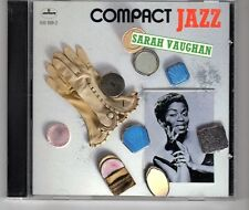 (HG595) Sarah Vaughan, Compact Jazz - 2003 CD