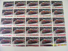 Lot of 25-1990 Kenworth W900 Semi Truck 18 Wheelers Trading Cards (READ AD)