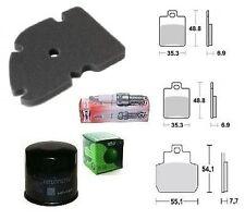 Kit revision plaquettes frein Bougie filtre huile/Air Piaggio MP3 125 2006/2009