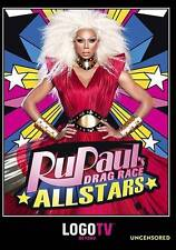 RuPaul's All Star Drag Race Uncensored Reality Drama 6 Episodes Special features