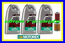 Kit Tagliando KTM 660 SM SMS Factory R. + Filtri Olio MOTOREX Cross Power 10W/50