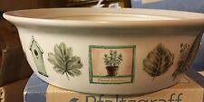 "New Pfaltzgraff Naturewood Casserole Baker Serving Bowl 10"""