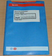 VW Passat B4 4 Zyl.Einspritzmotor Querstrom Zylinderkopf AEK  Werkstatthandbuch