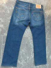 Levi's 501 Azul STRETCH JEANS W 36 L 30 Muy Buen Estado!!!