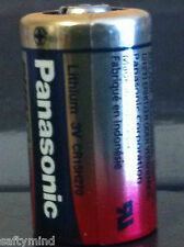 Brand New Panasonic CR2 3 Volts Single Use Battery for Camera, Meter, Flashlight