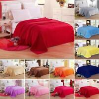Warm Throw Super Soft Plush Velvet Blanket Sofa Home Bed Fleece Twin Queen King