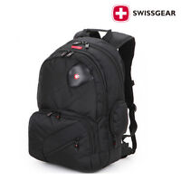 "NEW Swiss Gear 15.6/"" Business Laptop Travel Backpack Large School Shoulders Bag"