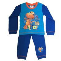 OFFICIAL DINOSAURE TRAIN Buddy Garçon Fille Set Pyjama Pyjamas 1 2 3 4 Ans