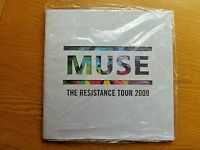 MUSE THE RESISTANCE TOUR PROGRAMME 2009 MINT SEALED WITH CARDS AND STICKERS