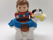 Vtech Go! Go! Prince Henry With White Horse Both Working