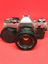 """Canon AE-1 with 50mm f/1.8 FD Lens """"TESTED"""" 5234309"""