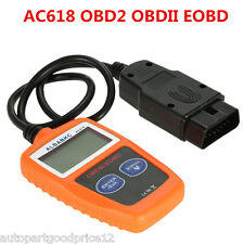 AC618 OBD2 OBDII EOBD Scanner Car Code Reader Data Tester Scan Diagnostic Tool