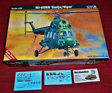 MIT DEUTSCHE POLIZEI MARKIERUNG 1//72 MASTERCRAFT PZL//MIL Mi-2 POLIZEI