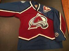 VINTAGE Colorado Avalanche SIZE Youth L/XL Hockey Jersey KOHO NHL STITCHED