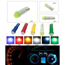Ice Blue 10x Car Interior LED Dashboard light T5 1 SMD 5050 led  LED Bulb Lamp o