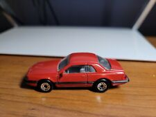 VINTAGE 1987 MATCHBOX MB RED FORD THUNDERBIRD TBIRD TURBO COUPE 1:64 THAILAND