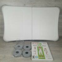 Wii Fit Balance Board Nintendo Exercise Fitness Controller w Wit Fit Plus Game