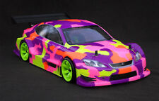 Carrosserie 1/10 200mm Lexus IS F Unique HPI-17542 Drift + kit Leds