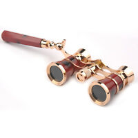 3x25 Classical Antique Style Theater Opera Glasses Coated Binoculars Telescope