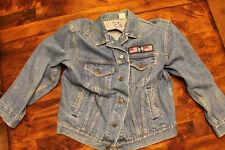Rolling Stones Vintage 1989 Steel Wheels Tour Denim Jacket Adult Size Medium
