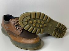 ECCO Mens Track II Low Gore-Tex Oxford LEATHER SHOES 46 US 12 BROWN TRACK